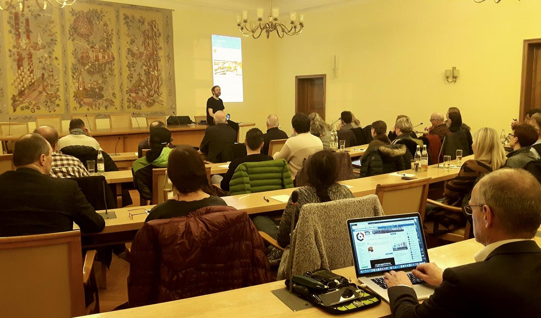 Bild vom Vortrag